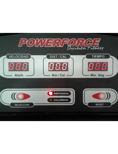 CINTAS DE CAMINAR Y CORRER CON MOTOR POWERFORCE MODELO HG-4 plus