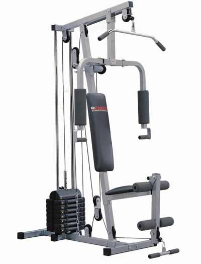 Multigimnasios power force equipamiento para for Poleas para gimnasio